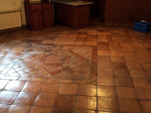 Pavimenti In Cotto Con Mosaico : Maestri trattatori cotto